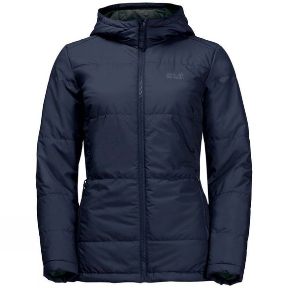 Jack Wolfskin Womens Devon Island Jacket Greenish Grey