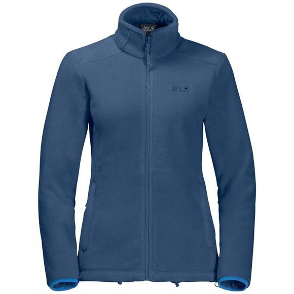 Jack Wolfskin Womens Seven Lakes 3In1 Jacket Zircon Blue