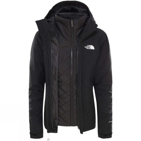 The North Face Womens Synthetic Insulated Triclimate Jacket Tnf Black