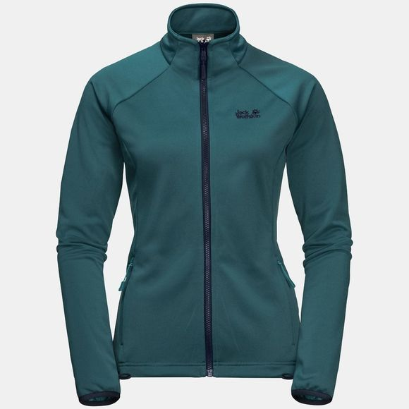 Jack Wolfskin Womens Kiruna 3-in-1 Jacket Porcelain Blue