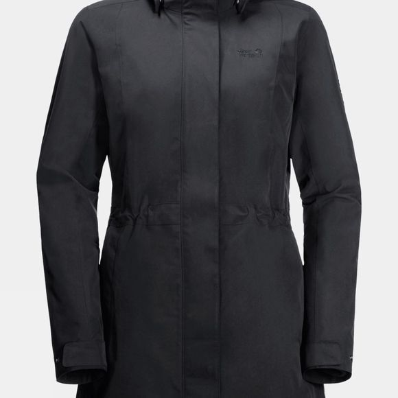 Jack Wolfskin Womens Ottawa 3 in 1 Coat Black