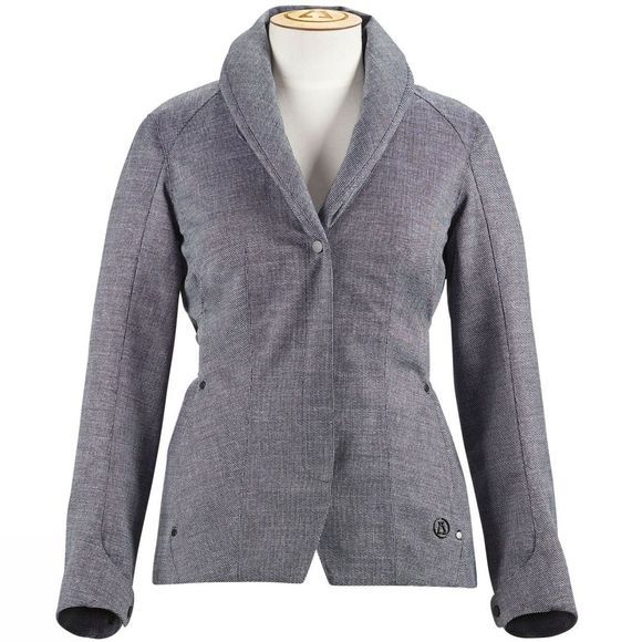 Alchemy Equipment Womens Technical Tweed Jacket Blue Tweed