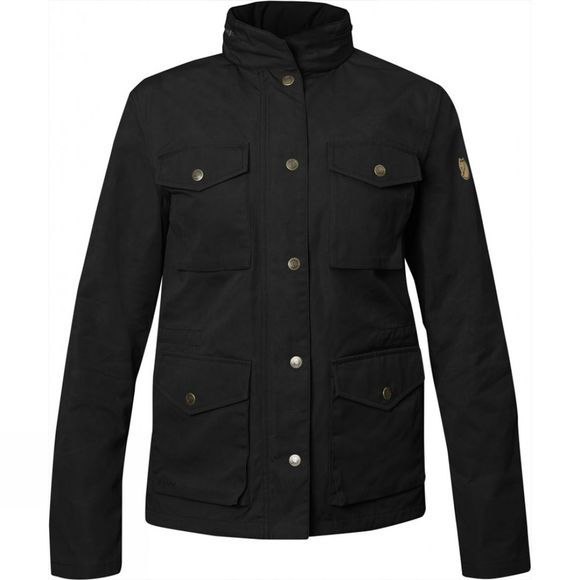 Fjallraven Womens Räven Jacket Black
