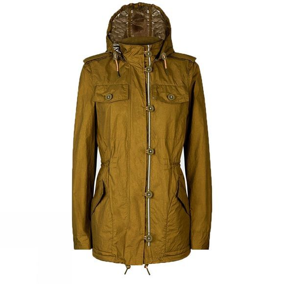 Hunter Womens Original Utility Jacket KHAKI
