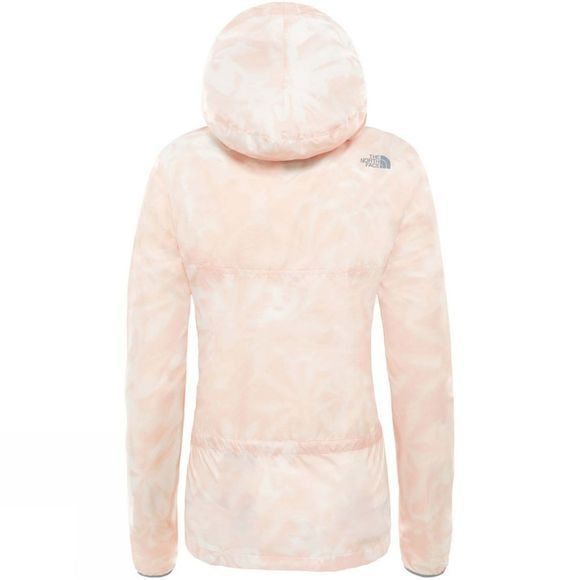 The North Face Fanorak Pullover Jacket Evening Sand Pink Lupine Print