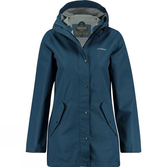 Ayacucho Womens 10Y Rain Coat Navy