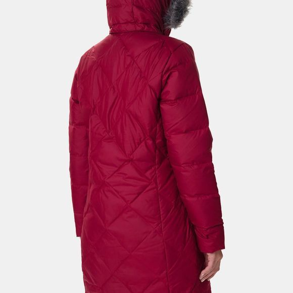 Columbia Womens Icy Heights II Mid Length Down Jacket Beet