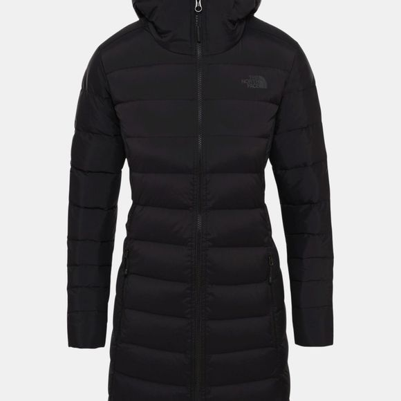 The North Face Womens Stretch Down Parka Tnf Black