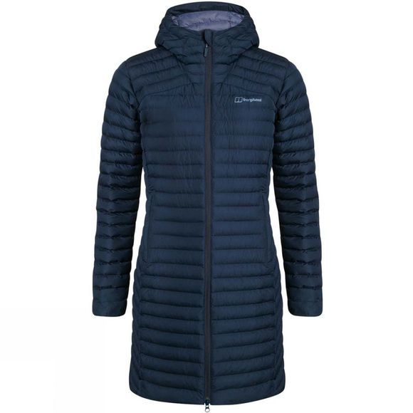 Berghaus Womens Nula Micro Long Insulated Jacket Dusk