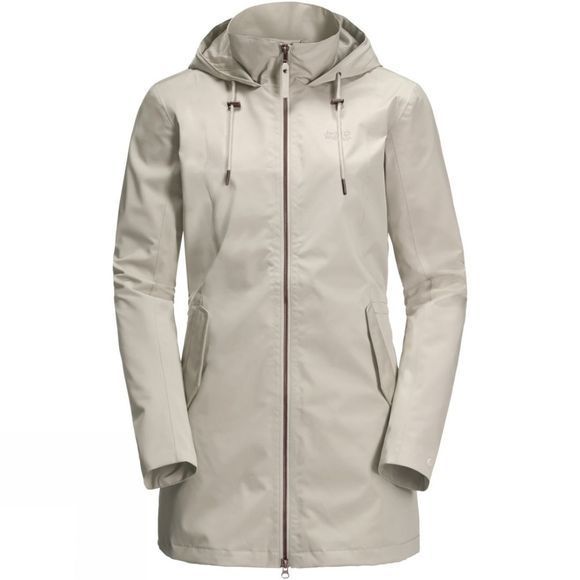 Jack Wolfskin Womens Dakar Parka Dusty Grey
