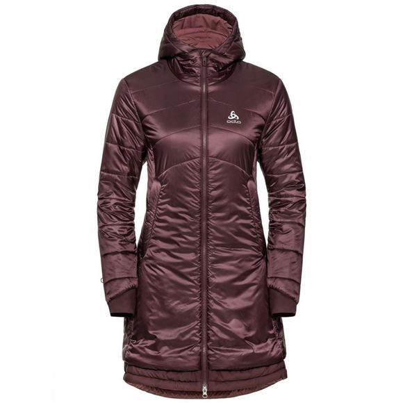 Odlo Womens Cocoon S-Thermic Parka Decadent Chocolate