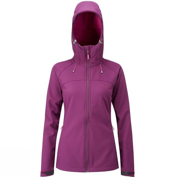 Rab Womens Salvo Jacket Berry/ Tayberry