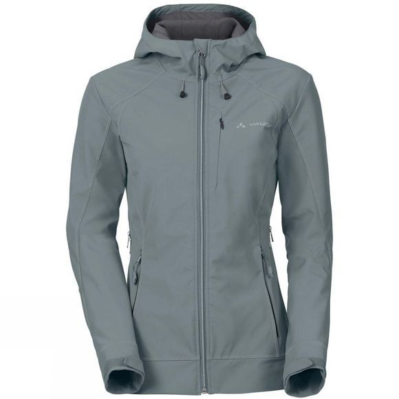 Vaude Womens Skomer S Jacket Pewter Grey