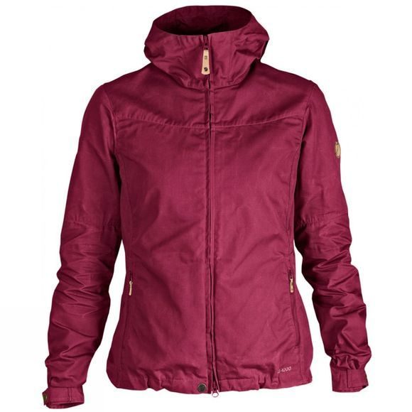 Fjallraven Womens Stina Jacket Plum