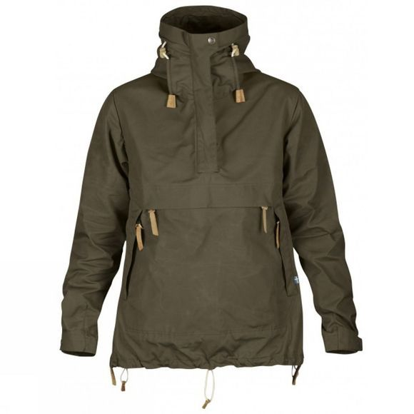 Fjallraven Womens Anorak No. 8 Dark Olive