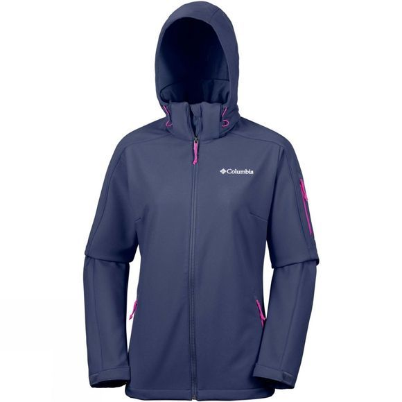 Columbia Womens Cascade Ridge Jacket Nocturnal/Cactus Pink