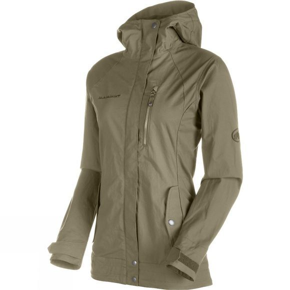 Mammut Women's Trovat Guide SO Hooded Jacket Dolomite