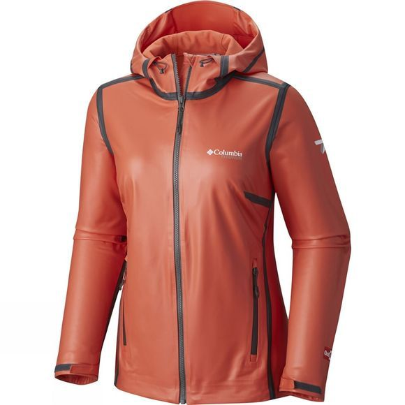 Columbia Womens OutDry Ex Stretch Hooded Shell Jacket Zing