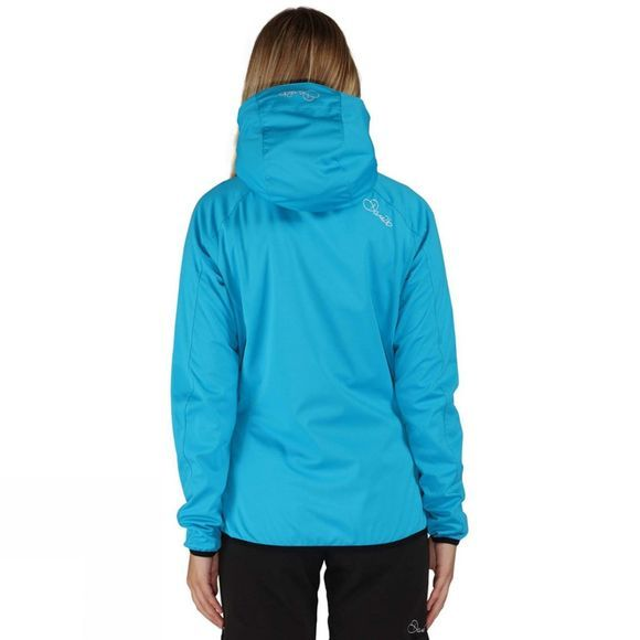 Dare 2 b Womens Catalyze Softshell Jacket Fluro Blue