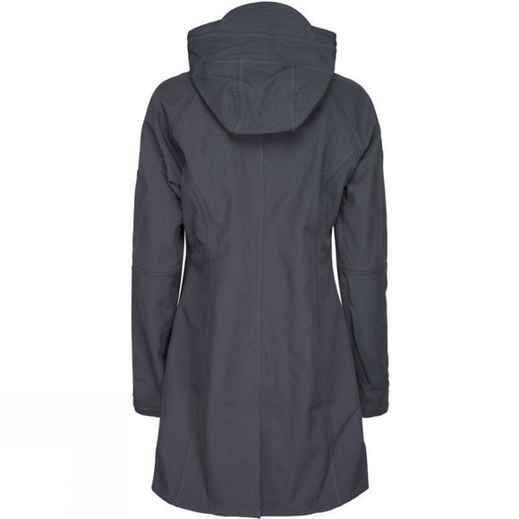 Ilse Jacobsen Womens Rain37 3/4 Rain Coat India Ink
