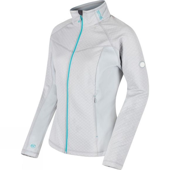 Regatta Womens Esteli Hybrid Softshell Jacket LtSteel/LtSt