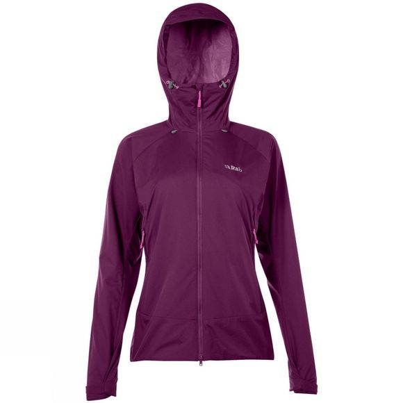 Rab Womens Vapour-Rise Jacket Berry