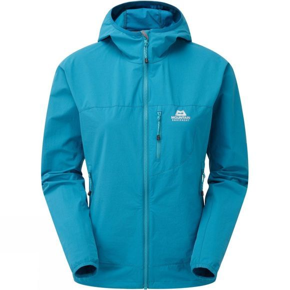 Mountain Equipment Womens Echo Hooded Jacket Tasman Blue