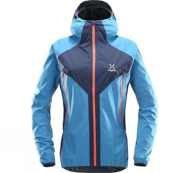 Haglofs Womens L.I.M Proof Multi Jacket Tarn Blue/Blue Fox