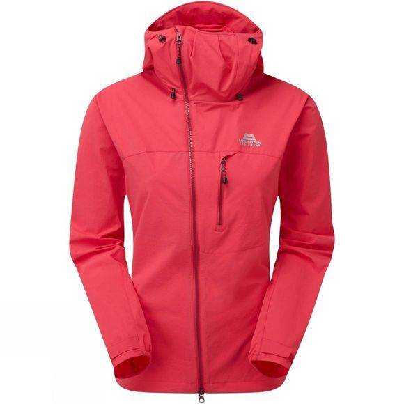 Mountain Equipment Womens Squall Hooded Jacket Virtual Pink
