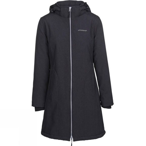 Ayacucho Womens Salzburg Softshell Coat Black Melange
