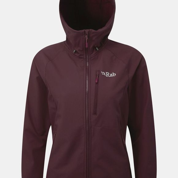Rab Womens Salvo Jacket Eggplant / Ricocco OR Atlantis / Serenity