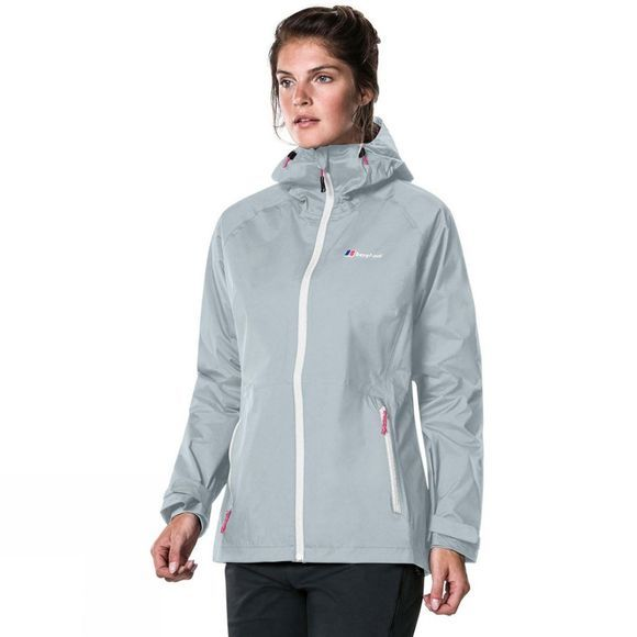 Berghaus Womens Deluge Pro Shell Jacket Quarry