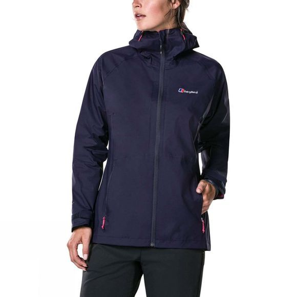 Berghaus Womens Deluge Pro Shell Jacket Evening Blue