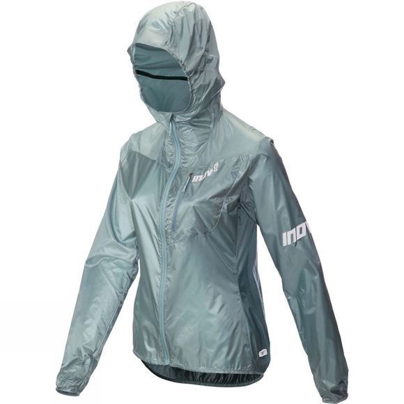 Inov-8 Womens Windshell FZ Jacket Blue Grey