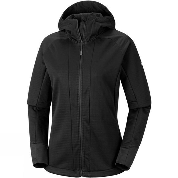 Columbia Womens Steel Cliff Hooded Softshell Jacket Black