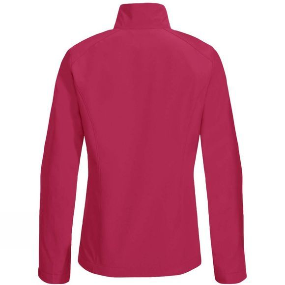 Vaude Women's Hurricane Jacket IV Crimson Red