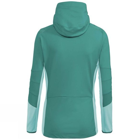 Vaude Women's Croz Softshell Jacket Nickel Green
