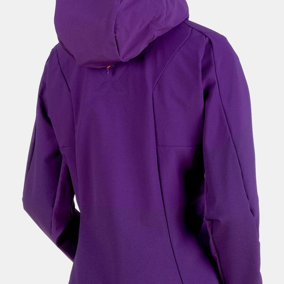 Mammut Womens Eisfeld Light SO Hoody Dawn
