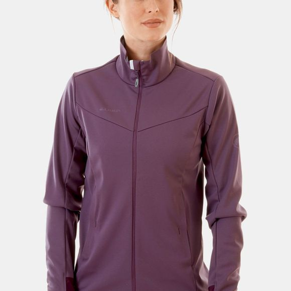 Mammut Womens Ultimate V SO Jacket Galaxy/Zen Melange