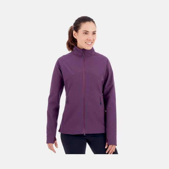 Mammut Womens Macun SO Jacket Galaxy