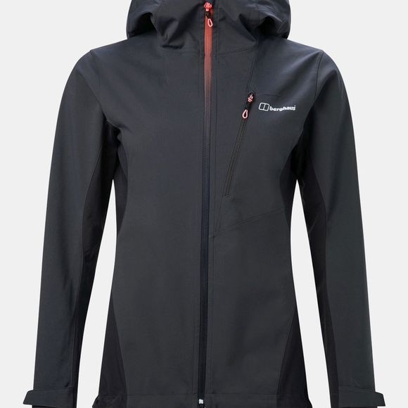 Berghaus Womens Taboche Softshell Jacket Carbon / Blue Graphite