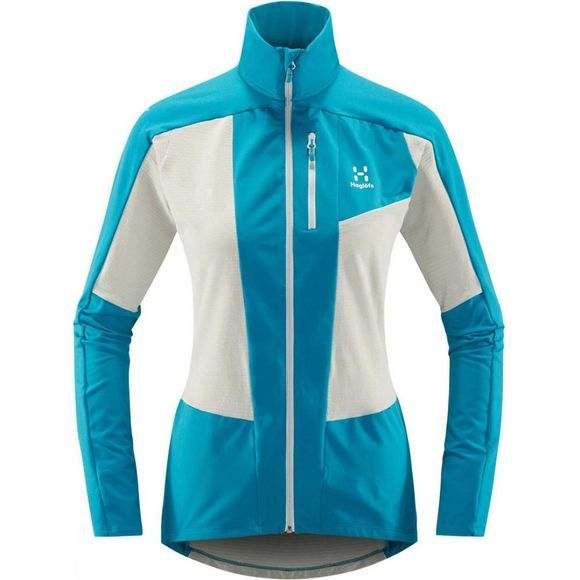 Haglofs Womens L.I.M Rock Mid Jacket Stone Grey  /  Mosaic Blue