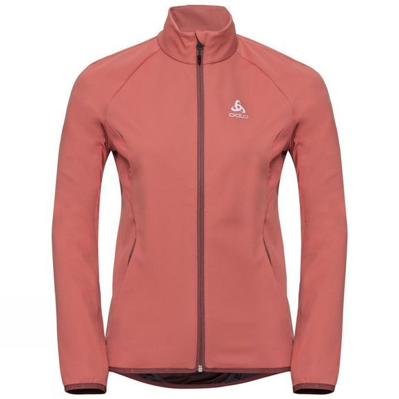 Odlo Womens Aeolus Element Jacket Faded Rose