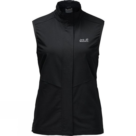 Jack Wolfskin Womens Activate Vest Black