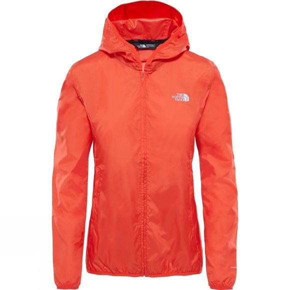 The North Face Womens Tanken Wind Wall Jacket Fire Brick Red