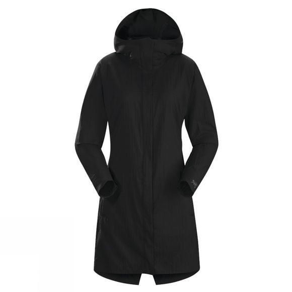 Arc'teryx Womens A2B Windbreaker Jacket Black