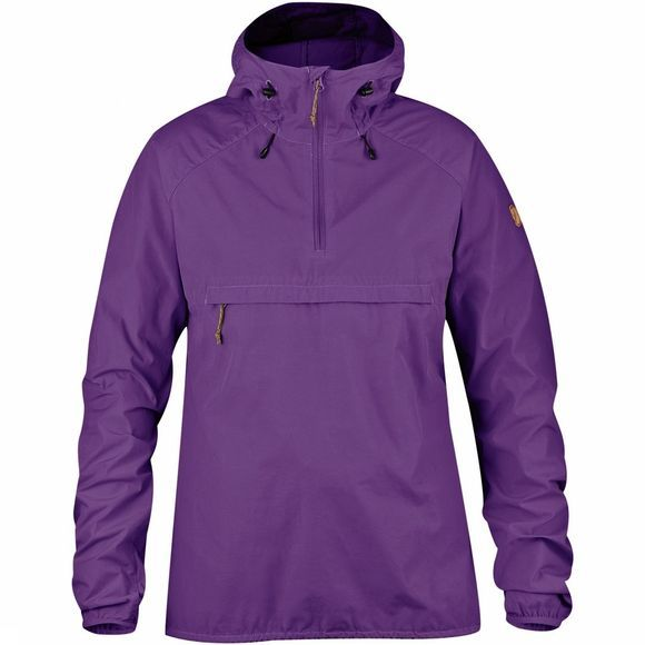 Fjallraven Womens High Coast Wind Anorak Purple