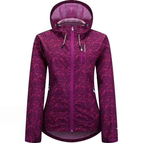 Skogstad Womens Egge Lightshell Jacket Purple Haze Print