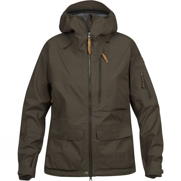 Fjallraven Lappland Eco-Shell Jacket W Dark Olive
