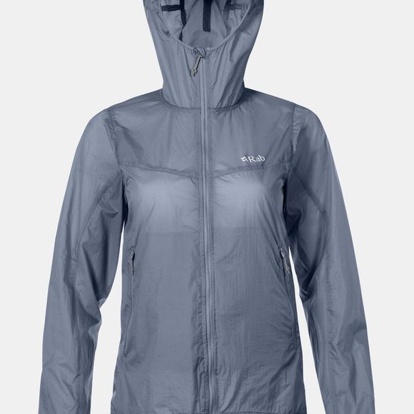 Rab Womens Vital Windshell Hoody Shadow